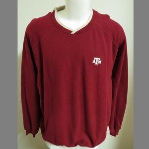 Sz XL Texas A&M Aggies Cotton Blend Sweatshirt